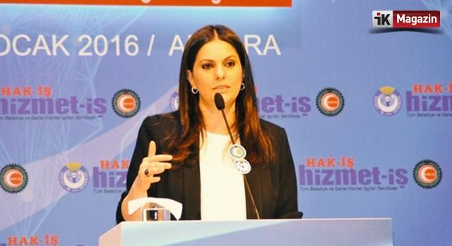 Yeni Çalışma ve Sosyal Güvenlik Bakanı Jülide Sarıeroğlu