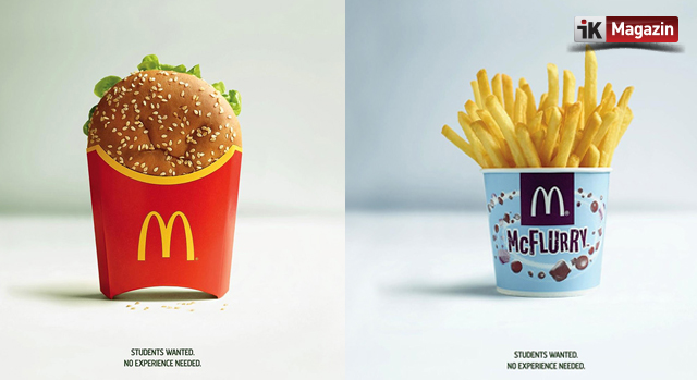 McDonald's'dan İlgi Çekici İş İlanı
