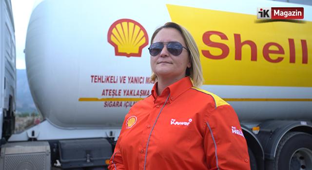 Türkiye'nin İlk Kadın LPG Tankeri Sürücüsü İşe Başladı