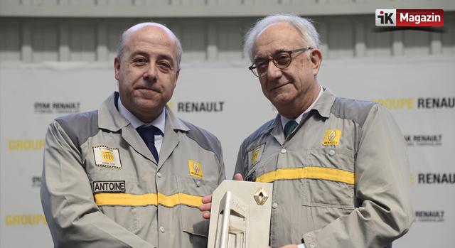 Oyak Renault  Yönetiminde Bayrak Değişimi