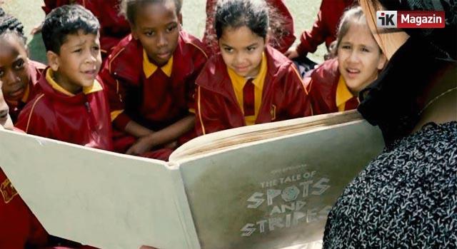 OMO Afrikalı Çocukları Kirlenmeye Davet Ediyor