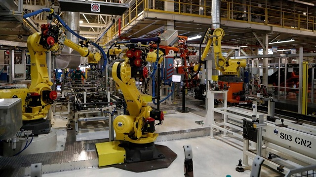 Dünyadaki Robot Çalışan Nüfusu