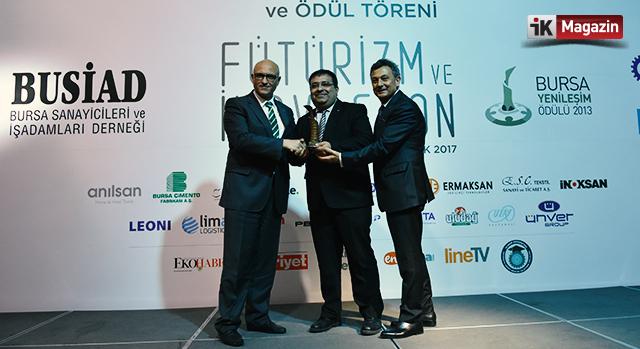 Aktaş Holding'e Liderlik ödülü