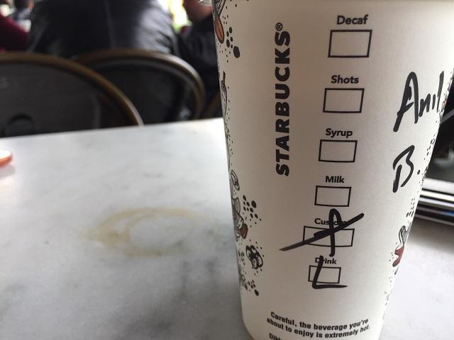 Starbucks Bardaklarındaki Yazıların Anlamları