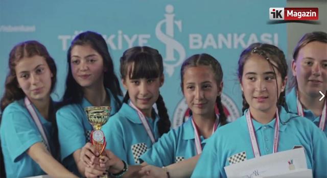 Türkiye İş Bankası'ndan Satranç Oyunlarına Destek