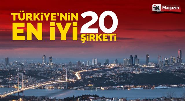 Türkiye'nin En Büyük 20 Şirketi 2017