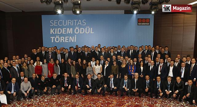 Securitas Kıdem Ödüllerini Dağıttı