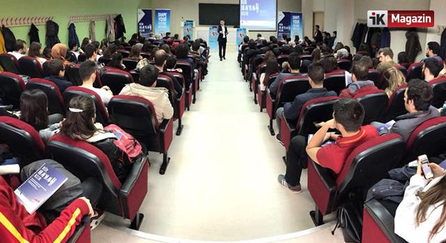 QNB Finansbank İnsan Kaynakları Öğrencilerle Buluştu