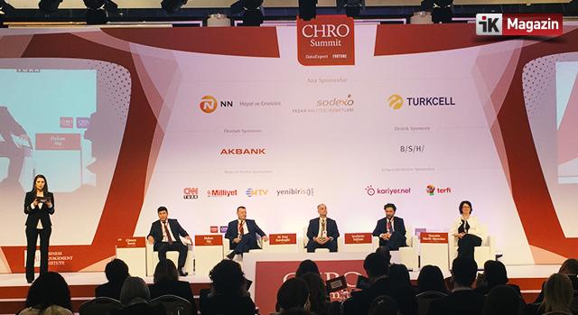 İnsan Kaynakları Liderleri CHRO Summit'te Bir Araya Geldi