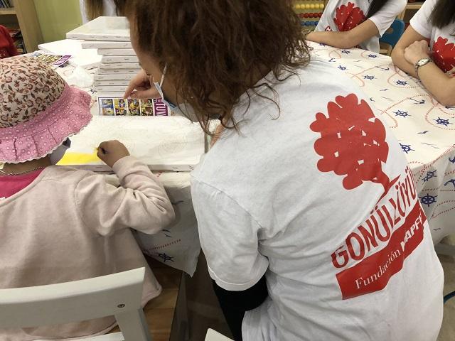 MAPFRE Gönüllüleri KAÇUV'da Çocuklarla Buluştu
