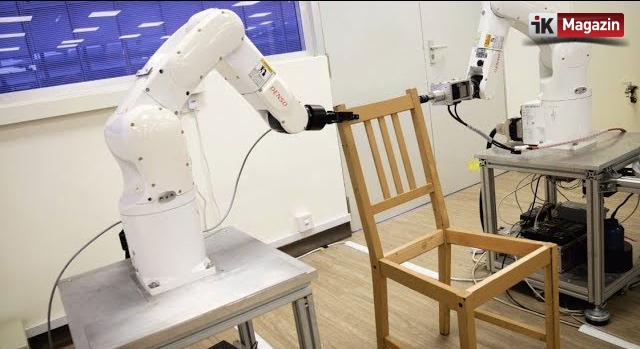 IKEA'nın Mobilya Montajını Yapacak Robot Çalışanlar
