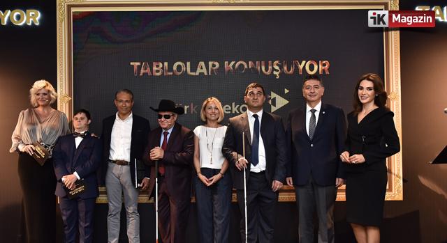 Tablolar Türk Telekom İle Dile Geldi