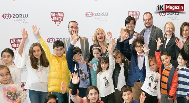 Zorlu Holding'ten Çocuklara Bir Hayal Bir Oyun Eğitimi