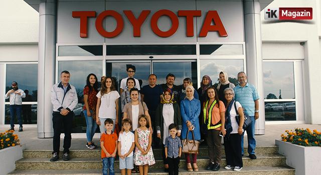 Toyota Çalışanlarının Aileleri Fabrikadaydı
