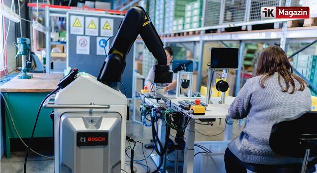 Bosch Engelli Çalışanlarına Robotları Yardıma Gönderiyor