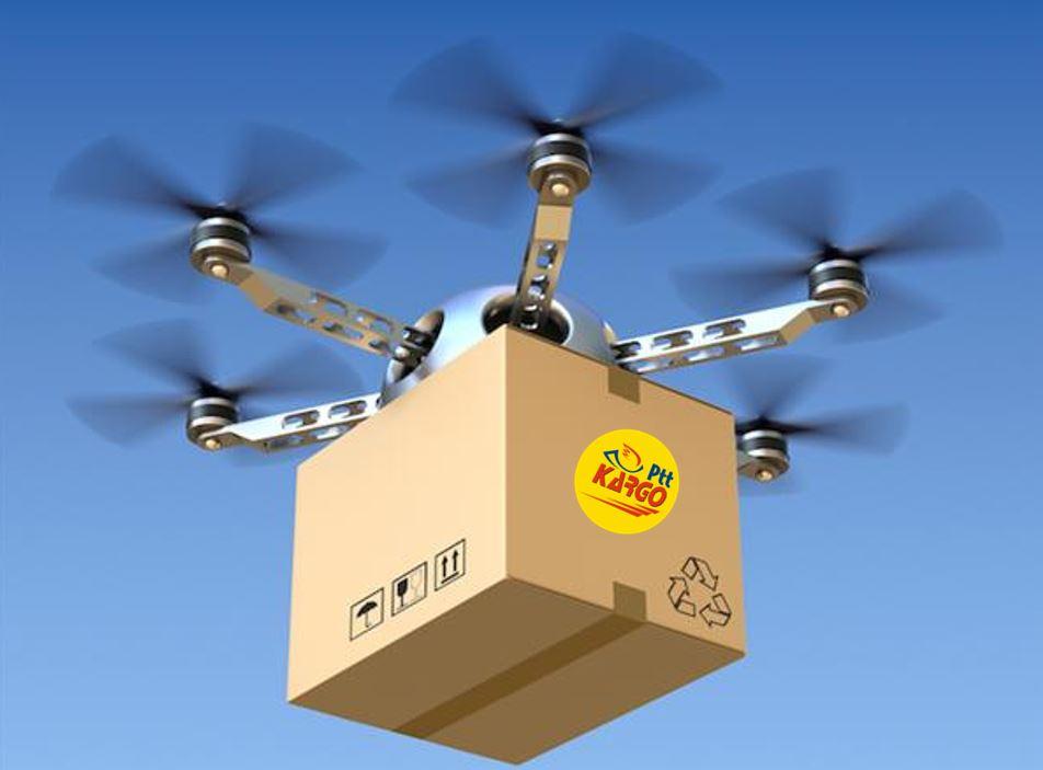 Drone İle Kargo Dağıtacak