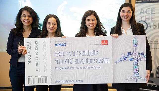 KPMG Uluslararası Vaka Analizi Yarışması Dubai'de Başladı