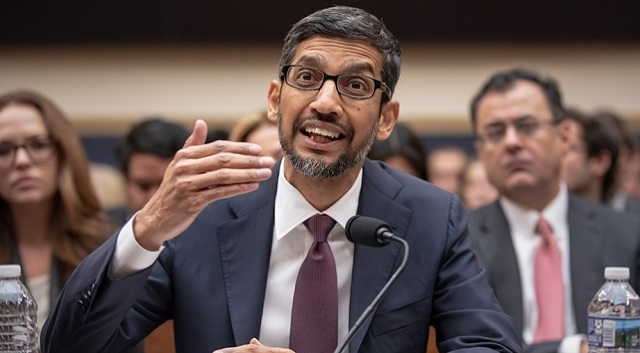 Google'ın CEO'su Sundar Pichai Adli Komite Karşısında