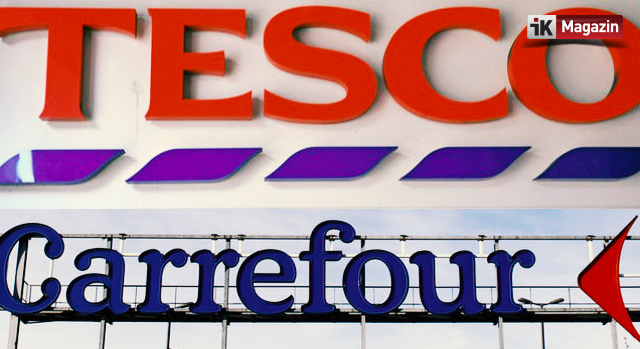 Carrefour ve Tesco Ortaklık İçin İlk Adımı Attı