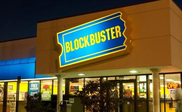 Blockbuster'in Bir Mağazası Kaldı