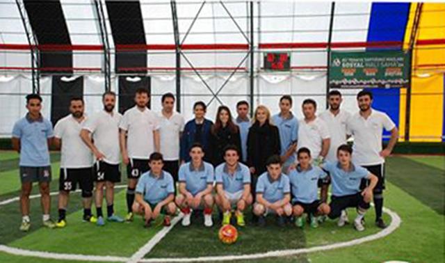 Çalışanlar ve Stajyerler Futbol Maçı Yaptı