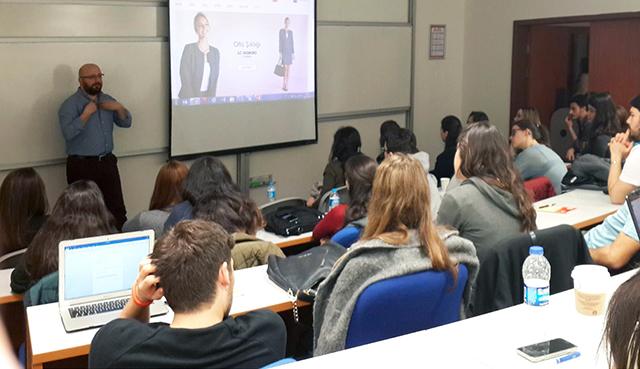 LC Waikiki'den Koç Üniversitesi Öğrencilerine 'E- Ticaret' Eğitimi