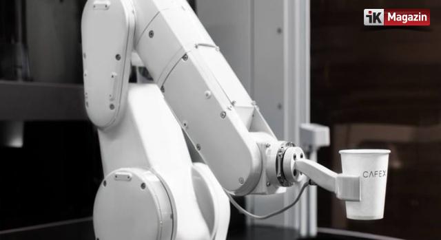 Saatte 120 Kahve Hazırlayan Robot Barista ile Tanışın