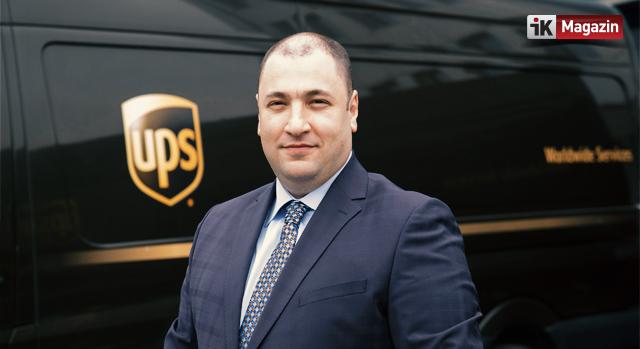 UPS Türkiye Yöneticisi Burak Kılıç Oldu