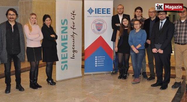 Siemens Bilkent Üniversitesi'ndeydi