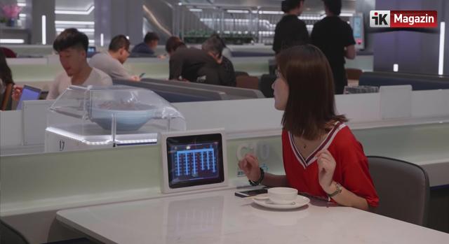 Alibaba'nın Garsonsuz Robotik Restoranı