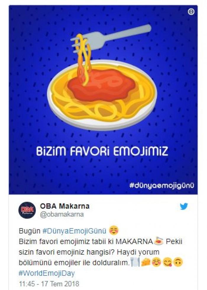 Markaların Dünya Emoji Günü Paylaşımları